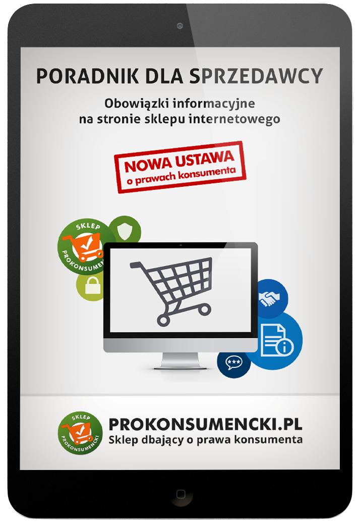 obowiazki informacyjne dla sklepu internetowego - poradnik sprzedawcy internetowego