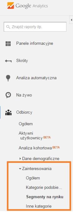 technologia, przeglądarka isystem wgoogle analytics